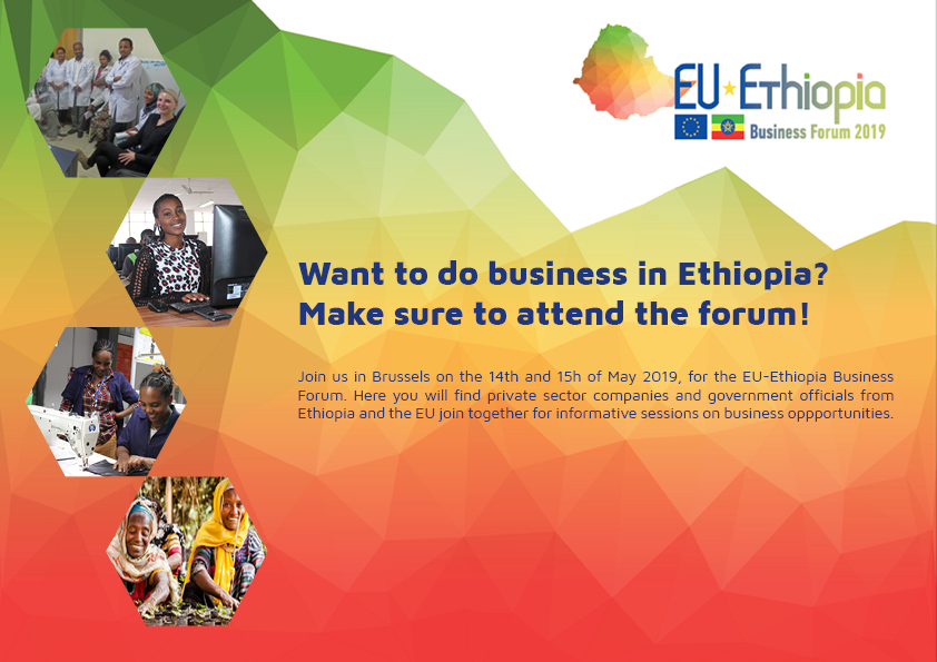 EBCAM - EU-Ethiopia Business Forum - Brussels 14th and 15th